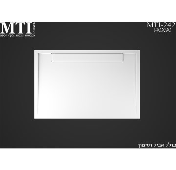 MTI-242 140X90 Shower Tray