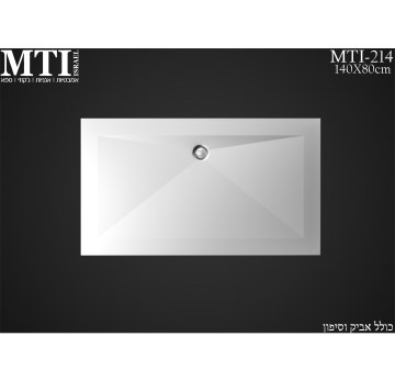 MTI-214 140X80 Shower tray